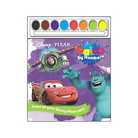 Disney Pixar Paint by Numbers