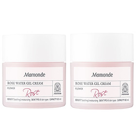 Mamonde Rose Water Gel Cream 80ml 1+1 / Total 2PCS
