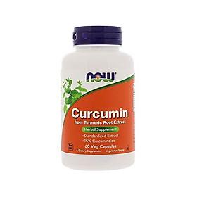 Viên Uống Now Curcumin Từ Rễ Củ Nghệ