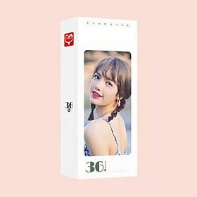 Bookmark postcard LISA BLACKPINK idol thần tượng kpop đánh dấu trang kẹp sách xinh xắn