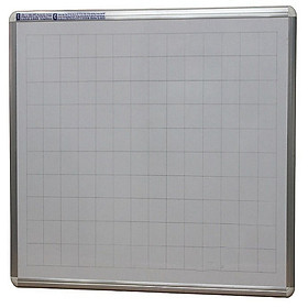 Bảng viết bút lông Poly Taiwan Bavico - trắng-1,2x1,2m