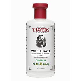 Nước hoa hồng THAYERS Alcohol-Free Original Witch Hazel Toner 355ml (Không cồn - Dành cho mọi loại da)