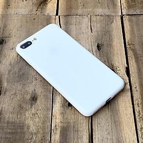Ốp lưng dẻo trắng dành cho iPhone 7 Plus / iPhone 8 Plus