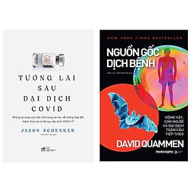 Combo 2 cuốn : Tương Lai Sau Đại Dịch Covid + Nguồn Gốc Dịch Bệnh