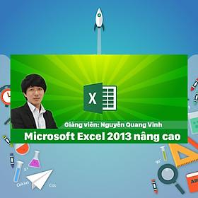 Khóa Học Microsoft Excel 2013 Nâng Cao
