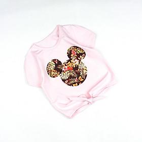 Áo thun bé gái in Mickey cột nơ tay ngắn từ 12 đến 28 kg 05007-04999