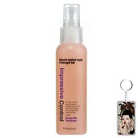 Xịt dưỡng tóc hương hoa quả Mugens Vita Keratin Conditioner Hàn Quốc 250ml + Móc khóa
