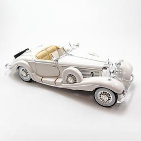 Mô Hình Xe Mercedes-Benz 500K TYP Special Roadster White 1:18 Maisto- MH 36055