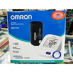 Máy đo huyết áp bắp tay Omron HEM_7156 + Tặng kèm khẩu trang y tế cao cấp BIOMEQ