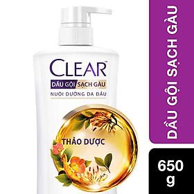 Dầu Gội Sạch Gàu CLEAR Thảo Dược (650g)