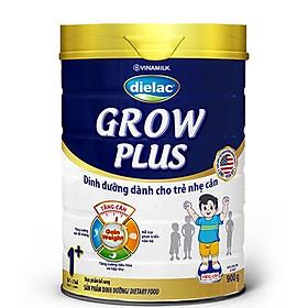 Sữa Bột VINAMILK DIELAC GROW PLUS XANH 1+ HỘP THIẾT 900G