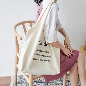 Túi Vải Tote Bag Phong Cách Nhật Bản XinhStore