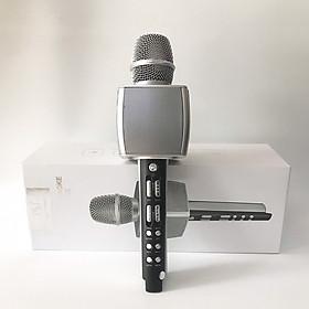Micro Karaoke Bluetooth SU-YOSD YS-92 màu Bạc - Hàng nhập khẩu