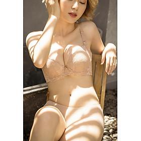 Áo Lót Nữ Ren Siêu Nâng Ngực Mút Dày Bra Cirrus (Mustoto MA24)
