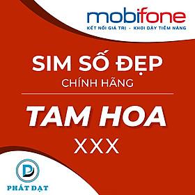 Sim Tam Hoa đẹp phong thủy chính hãng Mobifone