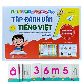 Sách Tập Đánh Vần Tập Học Chữ Tiếng Việt Tặng Kèm Thẻ Flashcard Thông Minh