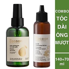 Combo Serum sachi phục hồi tóc 70ml + nước xịt bưởi Pomelo 140ml