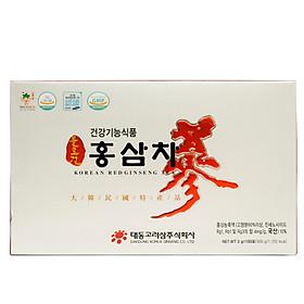 Chiết xuất trà hồng sâm Hàn Quốc Daedong Korea Ginseng 100 gói - Giúp tỉnh táo tinh thần, giảm mệt mỏi và giải nhiệt ngày nắng nóng