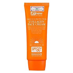 Kem chống nắng cao cấp dành cho da mặt - Benew Daily Sun Protection Collagen Face Cream 70ml