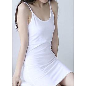 [VÁY NỮ 2019] Đầm nữ thời trang lót hai dây Hàn Quốc