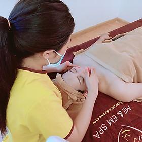 Áp Dụng 1 Trong 3 Dịch Vụ Combo Chăm Sóc Da Điện Di Với Vitamin C / Collagen Kết Hợp Với Massage Body Đá Nóng / Thảo Dược tại Mẹ & Em Spa