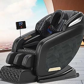 Ghế massage toàn thân trục cố định cao cấp Top433 , Ghế massage màn LCD kích thước lớn , Chế độ không trọng lực