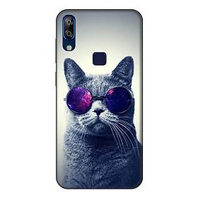 Ốp lưng cho điện thoại VSmart Active 1 Plus hình Mèo Con Đeo Kính Mẫu 2 - Hàng chính hãng