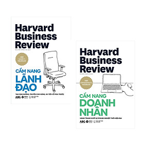 Combo Sách Kinh Doanh Harvard Business Review: HBR Cẩm Nang Lãnh Đạo + HBR Cẩm Nang Doanh Nhân