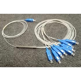 Bộ chia quang PLC 1X8 Mini type SC/UPC - Hàng Chính Hãng
