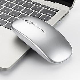 Chuột Không Dây M90S - Bluetooth 5.0 + Wireless 2.4G  - Pin sạc  - Chống ồn
