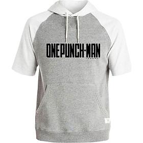 Áo Hoodie Tay Lỡ Có Mũ Saitama One Punch Man Mẫu 10