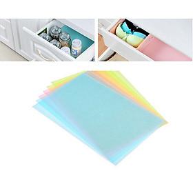 Combo 4 Miếng lót đa năng làm sạch tủ lạnh, ngăn tủ, bàn ăn (giao màu ngẫu nhiên) GD83-4MLTL