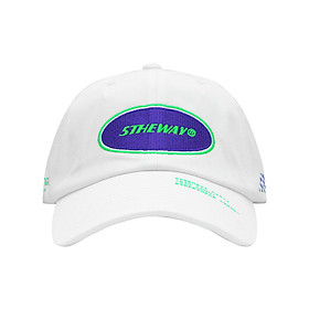 Nón Lưỡi Trai 5THEWAY Trắng aka 5THEWAY /oval/ Unstructure Washed Dad Cap in WHITE