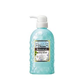 Sữa tắm cấp ẩm & tươi mát da Moist Diane Botanical Refresh & Moist Body Soap 500ml (Dành cho da khô & nhạy cảm)_Hương bạc hà