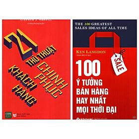 Combo 2 Cuốn: 100 Ý Tưởng Bán Hàng Hay Nhất Mọi Thời Đại + 21 Thủ Thuật Chinh Phục Khách Hàng