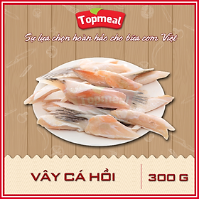 [Chỉ Giao HCM] - HCM - Vây cá hồi (300g) - Thích hợp với các món chiên giòn, kho, nướng, nấu lẩu - [Giao nhanh TPHCM]