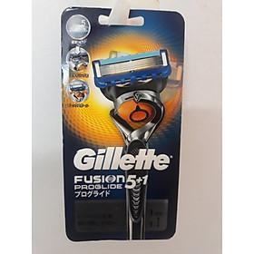 Cán Dao Cạo Râu Gillette Fusion 5+1 Nhật Bản Kèm 1 Lưỡi 5 in 1