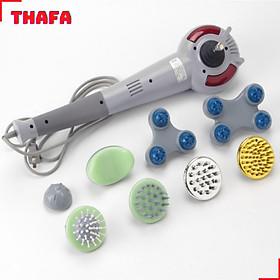 Máy massage cầm tay 8 đầu chính hãng THAFA-M08 massage cực mạnh đánh tan mệt mỏi