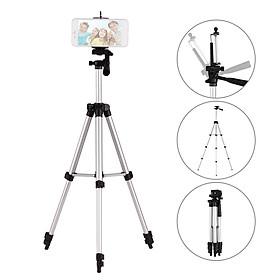 3110 Pro Camera Tripod Lightweight Flexible Portable Three-way Head Compatible with Sony Canon Nikon