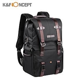 Balo đựng máy ảnh và laptop K&F CONCEPT 15.6 inch chống thấm nước với ngăn đựng tripod tích hợp