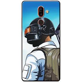Ốp lưng dành cho Nokia 7 Plus mẫu Balo nón