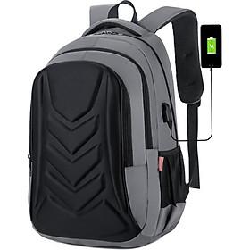 Balo Laptop Cao Cấp, Balo Đi Học Vỏ Sò New Style Ohazo! BL102 (Tặng kèm cáp sạc USB)