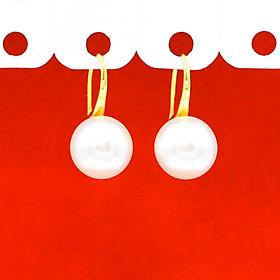 Khuyên Tai, Bông Tai, Hoa Tai Nữ Ngọc Trai Dáng Dài Xi Mạ Vàng Cao Cấp 24k - Trang Sức Hava Hong Kong - HVBT111