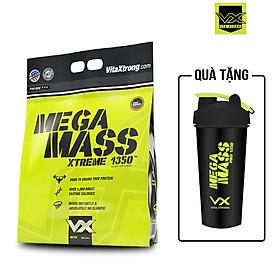 Mega Mass Pro 1350 6lbs (2.7kg) VitaXtrong Sữa Hỗ Trợ Tăng Cân Từ USA