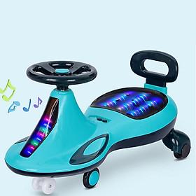 Xe lắc tay cho bé YTH-068 có đèn led phát sáng và nhạc vui nhộn, trọng tải lớn cho trẻ từ 1-10 tuổi