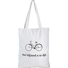 Túi Vải Đeo Vai Tote Bag Xe Đạp XinhStore