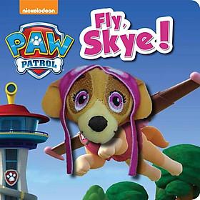 Nickelodeon PAW Patrol Fly, Skye! Finger Puppet Book - Chú chó cứu hộ