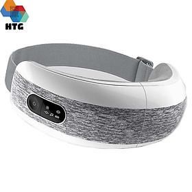 Máy massage mắt XGEEK E6, 4 trong 1, thư giãn thái dương kết hợp nhiệt và rung xoa bóp tần số cao, hàng chính hãng
