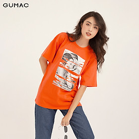 Áo thun in cô gái GUMAC ATB1160