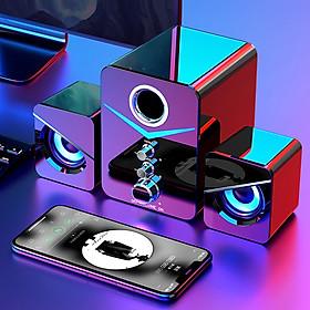 Loa Máy Vi Tính - PC Laptop Gaming Để Bàn Hỗ Trợ Bluetooth 221D Có Đèn Led Nổi Bật